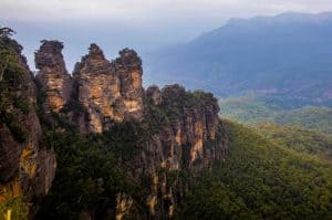 The Three Sisters rock formation at Echo Point in Katoomba, Blue Mountains - photo credit: Destination NSW